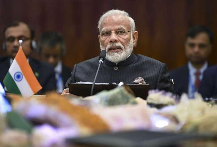 Prime Minister Narendra Modi addressing Plenary session...- India TV
