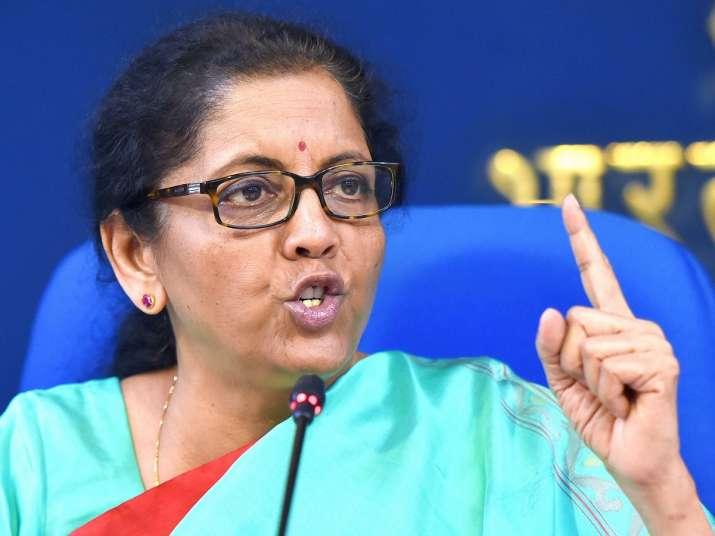 Union Finance Minister Nirmala Sitharaman- India TV