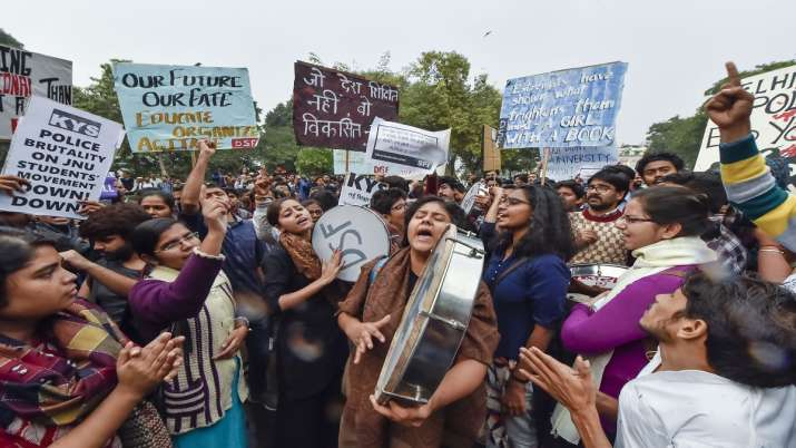 JNU student union will perform outside HRD ministry on...- India TV