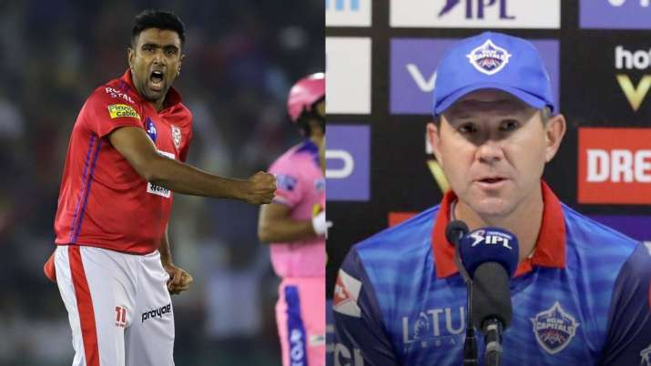 Ricky ponting, R Ashwin, Delhi capitals, kings xi punjab- India TV