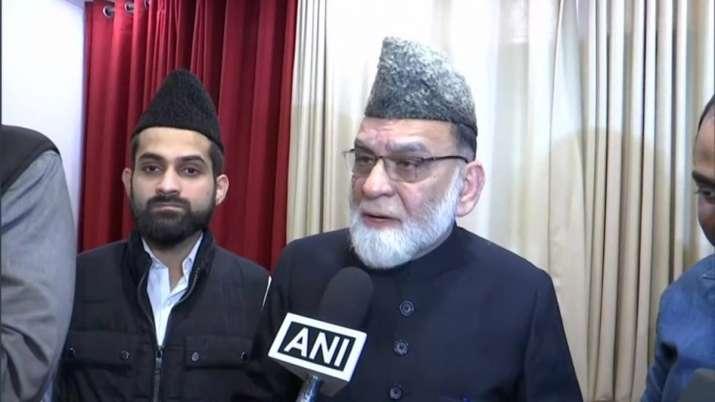 जामा मस्जिद के शाही इमाम सैयद अहमद बुखारी - India TV