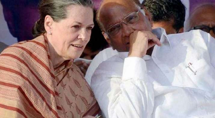 Sonia Gandhi talks Sharad Pawar Ahamed Patel Mallikarjun Kharge KC Venugopal Going Mumbai- India TV