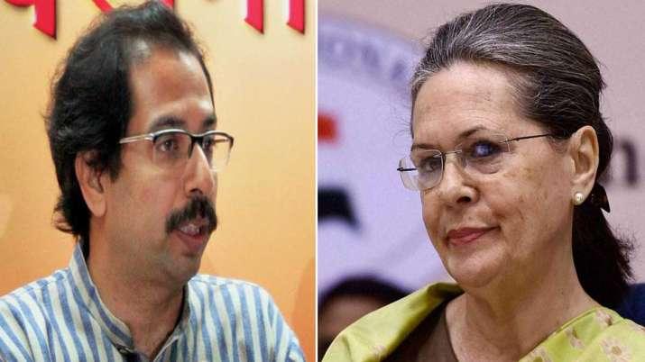 Uddhav Thackeray and Sonia Gandhi- India TV