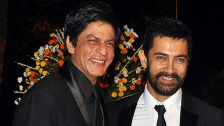 Shah rukh khan and aamir khan- India TV