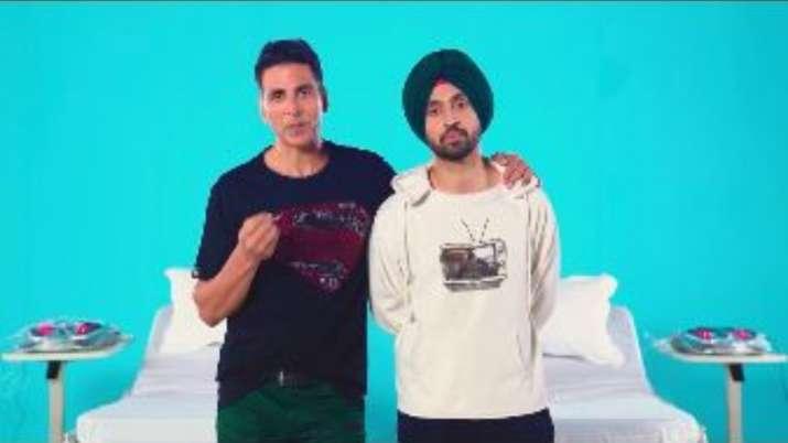 akshay kumar and diljit dosanjh- India TV