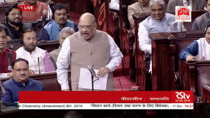 Amit Shah says statements of Congress Party leaders and Pakistani Leaders are same- India TV