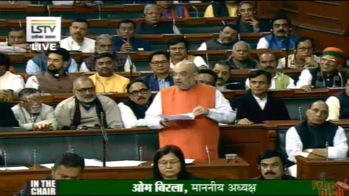 Home Minister Amit Shah- India TV
