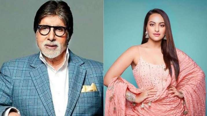 amitabh bachchan and sonakshi sinha- India TV