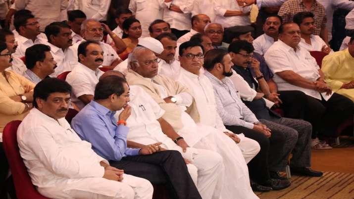 Congress NCP Shiv Sena- India TV