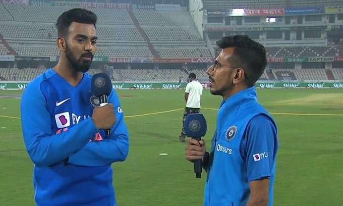 KL Rahul and Yuzvendra Chahal- India TV