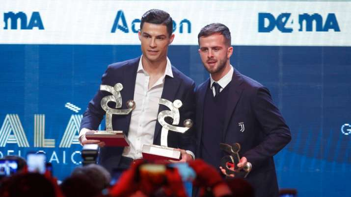 Cristiano Ronaldo wins 'Serie-A' Player of the Year Award- India TV
