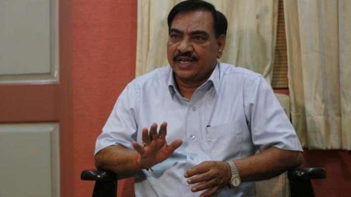 Senior BJP leader Eknath Khadse- India TV