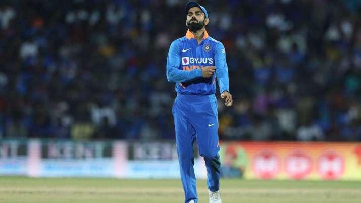 virat kohli, virat kohli reaction, india vs west indies, 1st ODI, Ind vs Wi, Hetmyer, Hope- India TV