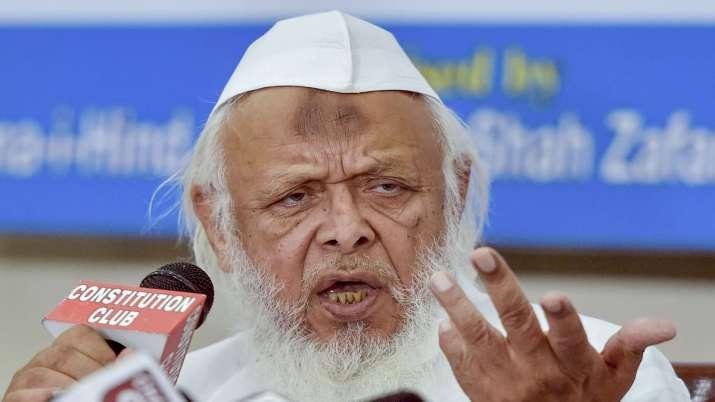 Jamiat Ulema-e-Hind President Maulana Syed Arshad Madani- India TV