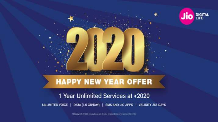 Jio unveils 2020 Happy New year offer- India TV Paisa