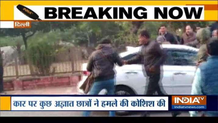JNU, Mamidala Jagadesh Kumar- India TV