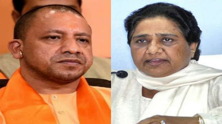 CM Yogi and Ex CM Mayawati (File Photo)- India TV