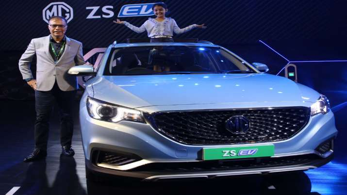 Rajeev Chaba, MG Motor ZS EV- India TV Paisa