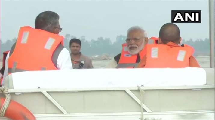 Narendra Modi, Ganga, Atal ghat, Kanpur- India TV