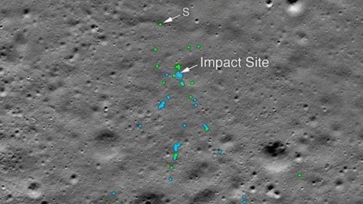 मिल गया चंद्रयान-2 का विक्रम लैंडर, NASA ने ट्वीट की तस्वीर- India TV