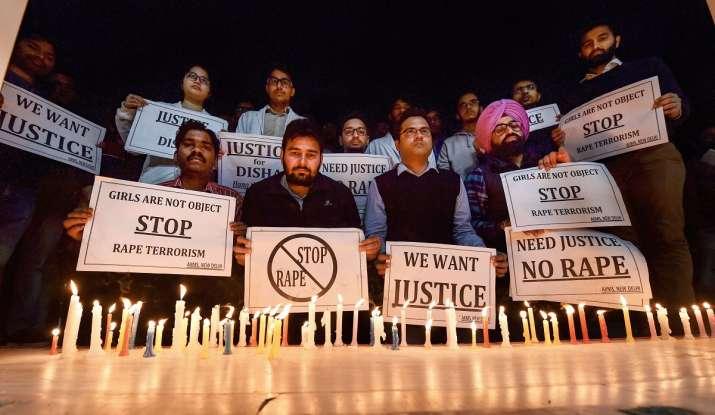 Protest- India TV