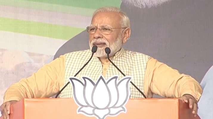 PM Modi in Jharkhand- India TV