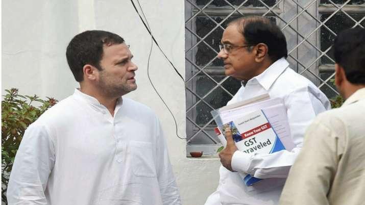 Rahul Gandhi reaction on P Chidambaram Bail in INX Media Case- India TV