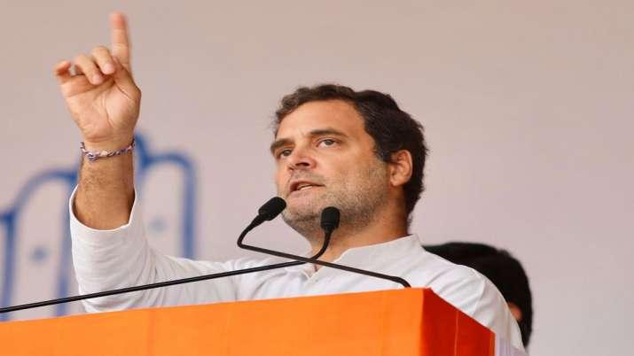 Rahul Gandhi Rape In India Statement in Jharkhand- India TV