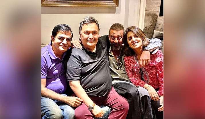 sanjay dutt neetu kapoor rishi kapoor- India TV