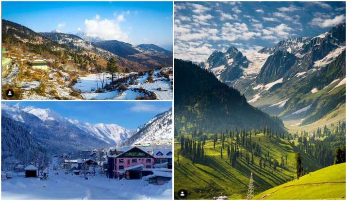 best snowfall place- India TV