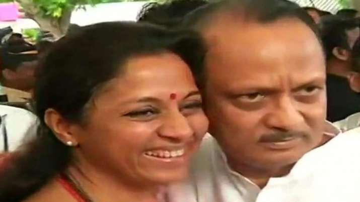 Supriya Sule Statement on Ajit Pawar- India TV
