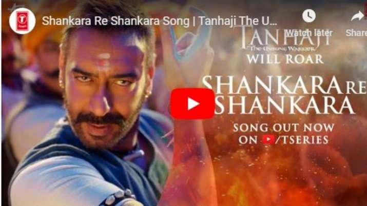 tanhaji the unsung warrior first song out- India TV