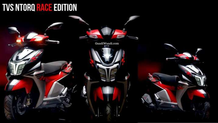TVS Motor launches NTORQ 125 Race Edition in Nepal- India TV Paisa