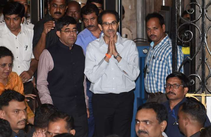 Maharashtra Chief Minister Uddhav Thackeray- India TV