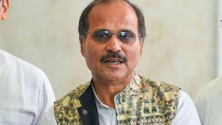 Adhir Ranjan Chowdhury apologize for Nirbala Sitharaman Statement - India TV