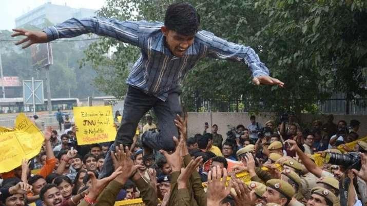 JNU Protest- India TV