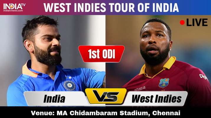 India vs West Indies Live Cricket Streaming 1st ODI : Watch IND vs WI 1st ODI Live Streaming on Hots- India TV