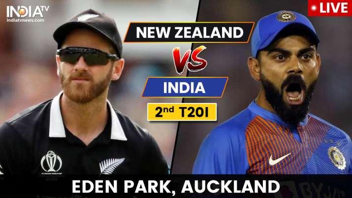 New Zealand vs India 2nd T20I- India TV