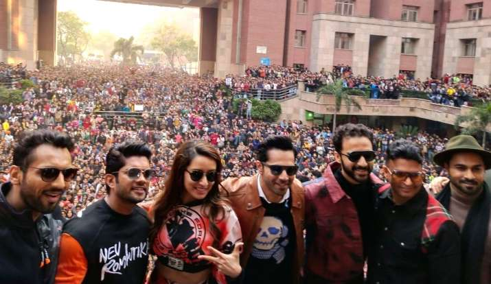 street dancer 3d delhi promotion- India TV
