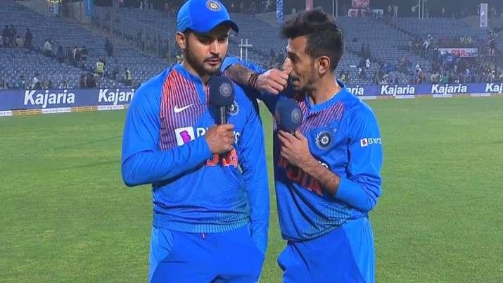 'चहल टीवी' पर डेब्यू...- India TV