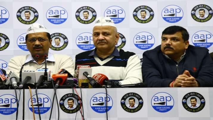 AAP denies ticket to 7 siting MLAs Atishi Marlena Raghav Chadha and Dilip Pandey to contest- India TV
