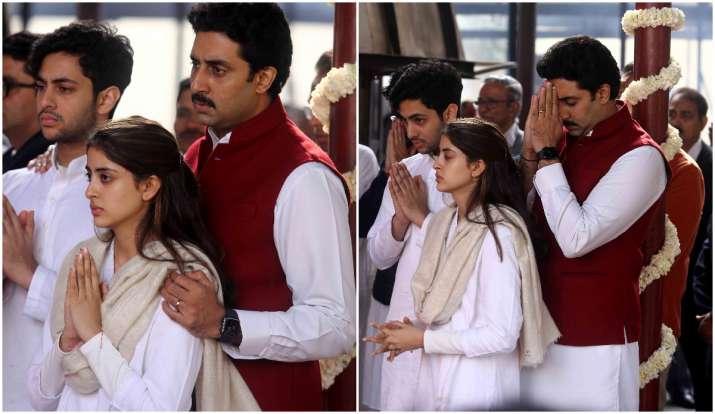 abhishek bachchan , navya nanda- India TV