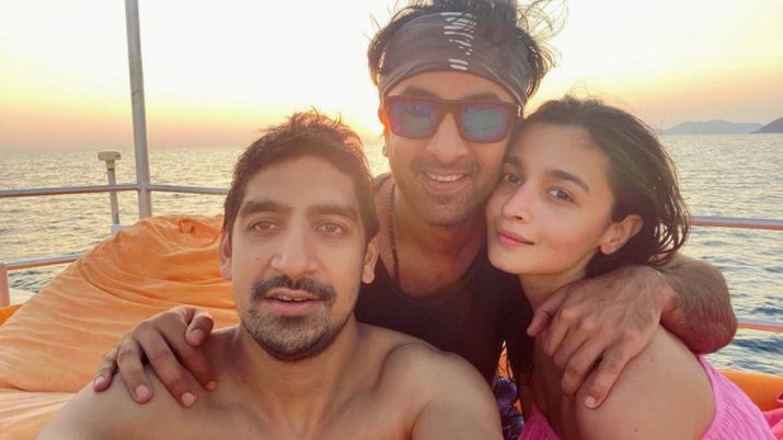 Alia bhatt ranbir kapoor and ayan mukerji- India TV