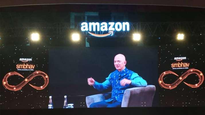 Amazon to invest usd 1 bn in digitizing Indian small medium businesses says amazon ceo jeff bezos- India TV Paisa