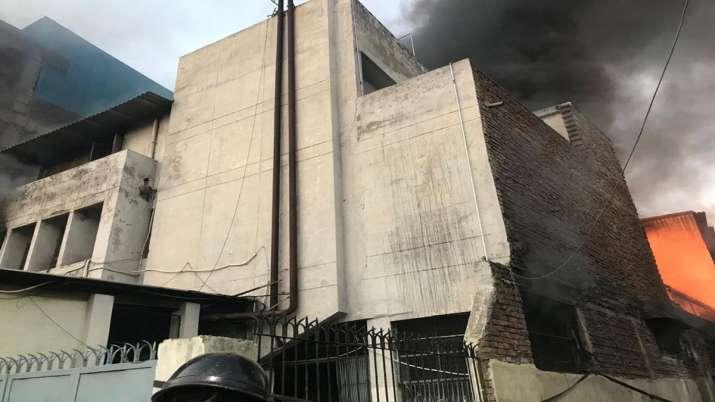 Fire Mayapuri factory Delhi- India TV
