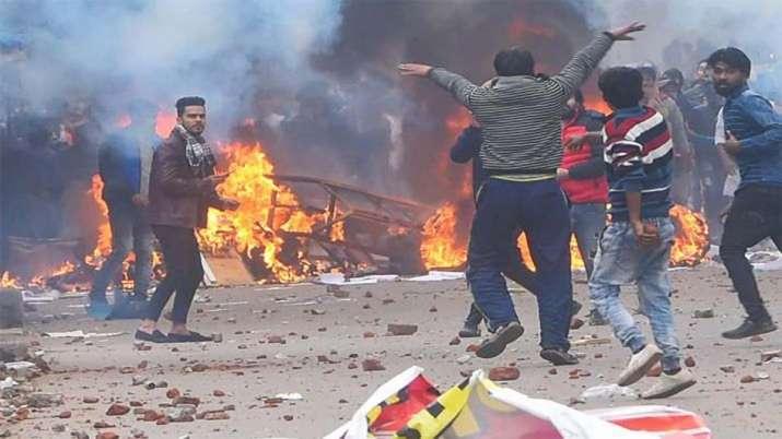 Delhi Violence- India TV