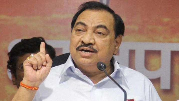 Eknath Khadse- India TV