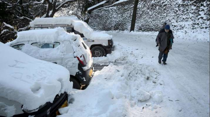 Shimla snow- India TV