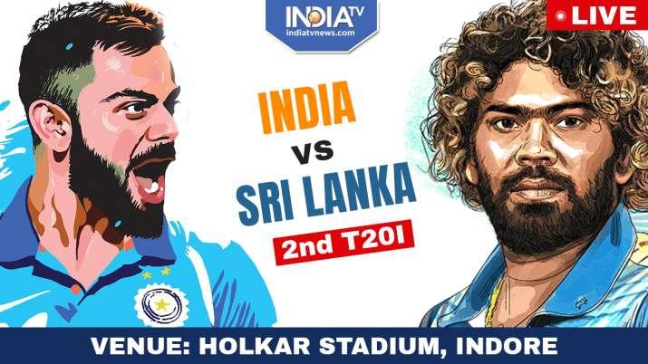 Live Streaming Cricket, India vs Sri Lanka, 2nd T20I, Watch IND vs SL 2nd T20I Live Match Online- India TV