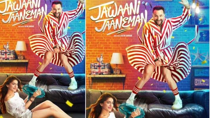 'जवानी जानेमन' सैफ और...- India TV